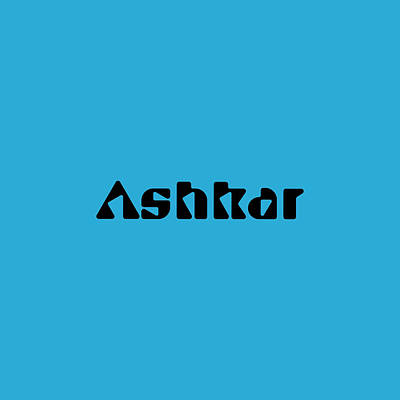 Royalty-Free and Rights-Managed Images - Ashkar by TintoDesigns