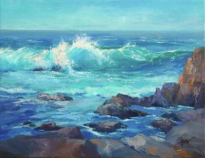 Painting - Asilomar Surt by Jeri McDonald