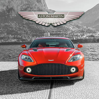 Fall Animals - Aston Martin by Gina Dsgn