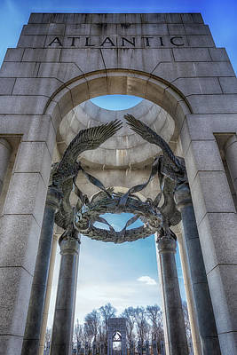Kids Cartoons - Atlantic Arch - World War II Memorial by Susan Rissi Tregoning