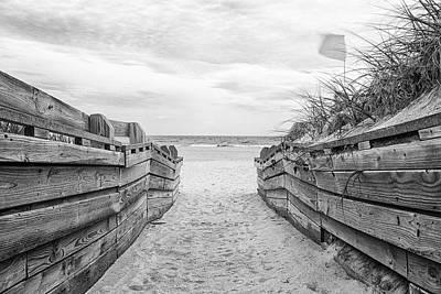 Lake Life - Atlantic Beach North Carolina Beach Access by Bob Decker