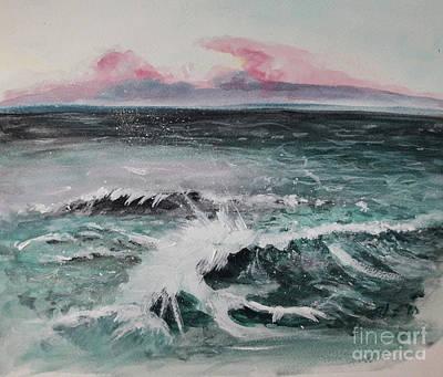 Painting - Atlantic by Lidija Ivanek - SiLa