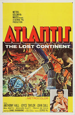 Royalty-Free and Rights-Managed Images - Atlantis-the Lost Continent, 1961 by Stars on Art