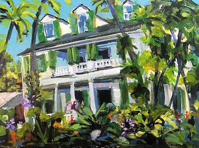 Recently Sold - Susan Elizabeth Jones Royalty-Free and Rights-Managed Images - Audubon House - Key West by Susan Elizabeth Jones