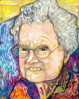 Drawings Royalty Free Images - Aunt Christine Royalty-Free Image by Jon Kittleson
