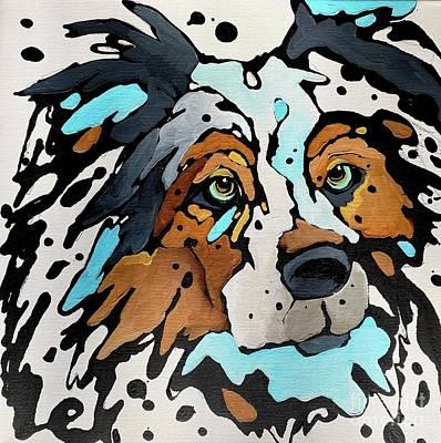 Painting - Aussie by Nicole Gaitan