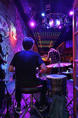 Staff Picks Judy Bernier Rights Managed Images - Austin Bar Scene 2 Royalty-Free Image by Allen Beatty