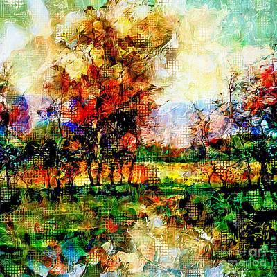 Old Masters - Autumn Abstract Art by Laurie