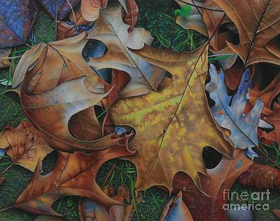 Winter Animals - Autumn Arabesque by Pamela Clements
