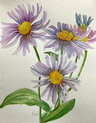 Vintage Signs - Autumn Asters by Nicole Curreri