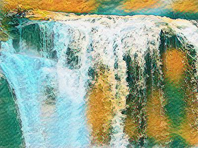 Digital Art - Autumn Falls by Robert Stanhope