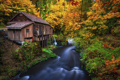 Royalty-Free and Rights-Managed Images - Autumn Mill by Darren White
