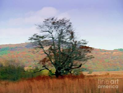 Irish Leprechauns - Autumn Tree by On da Raks