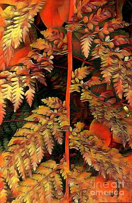 Design Turnpike Books Rights Managed Images - Autumnal Fern Royalty-Free Image by Bohema Gold
