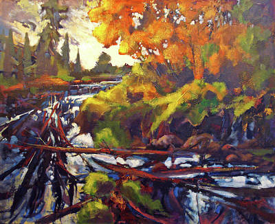 Painting - Autumns Changes by Dale Witherow