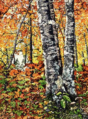 Painting - Autumn's Splendor by Brenda Jiral