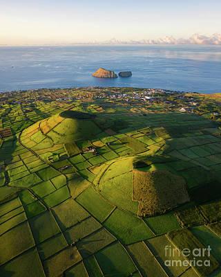 Photograph - Azores Landscape by Bruno Azera