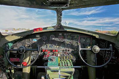 Pasta Al Dente - B-17 Cockpit by Robert Turchick