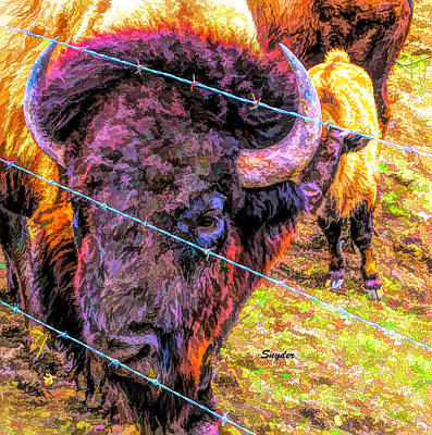 Pop Art Rights Managed Images - Baby Buff Royalty-Free Image by Floyd Snyder