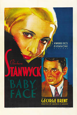 Royalty-Free and Rights-Managed Images - Baby Face, with Barbara Stanwyck, 1933 by Stars on Art