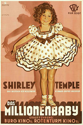Royalty-Free and Rights-Managed Images - Baby Take a Bow, with Shirley Temple, 1934 by Stars on Art