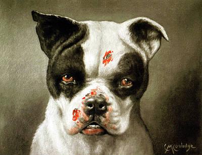 Scifi Portrait Collection - Bad Dog by Cassius Marcellus Coolidge