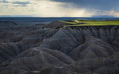 Catch Of The Day - Badlands Vista by Matt Hammerstein