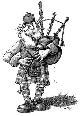 Soap Suds - Bag Pipes by Dan Nelson