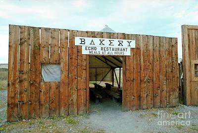 Keith Richards - Bakery, Echo Restaurant, Promontory, Box Elder County by Wernher Krutein
