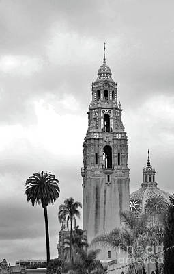Classic Golf - Balboa Park San Diego California Black and White by Debby Pueschel