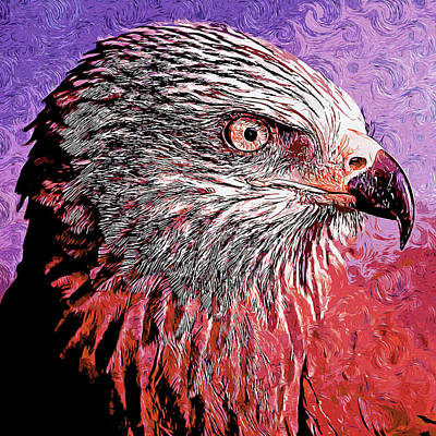 Valentines Day - Bald Eagle - 06 by AM FineArtPrints