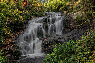Outerspace Patenets - Bald River Falls in Autumn by Marcy Wielfaert
