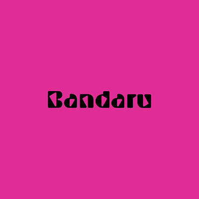 Royalty-Free and Rights-Managed Images - Bandaru by TintoDesigns