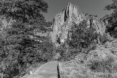 From The Kitchen - Bandelier National Monument Path by John McGraw