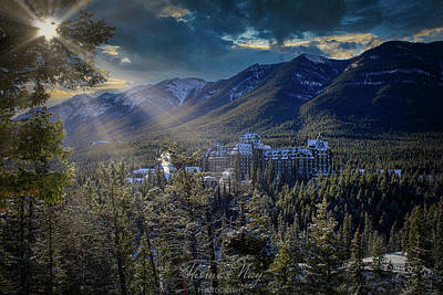 Photograph - Banff Springs by Thomas Nay