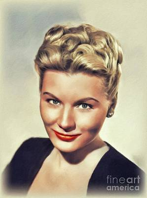 Nautical Animals - Barbara Payton, Vintage Actress by John Springfield