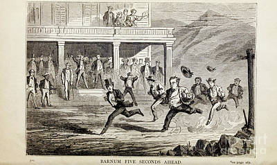 Drawings Royalty Free Images - BARNUM FTVE SECONDS AHEAD, i Royalty-Free Image by Historic illustrations