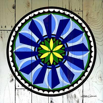 Grace Kelly - Barnwood Windmill Folk Art by Hanne Lore Koehler