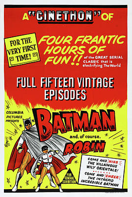 Royalty-Free and Rights-Managed Images - Batman and Robin, 1949 by Stars on Art