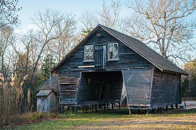 Claude Monet - Batsto Barn No. 2 by Jon Bilous