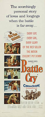 Granger Royalty Free Images - Battle Cry, with Van Heflin and Aldo Ray, 1955 Royalty-Free Image by Stars on Art