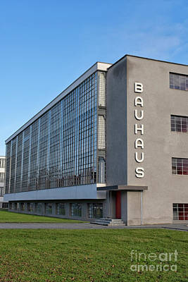 Spot Of Tea Royalty Free Images - Bauhaus school by Walter Gropius in Dessau, Germany Royalty-Free Image by Patricia Hofmeester