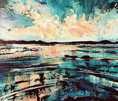 Painting - Bay View  by Julia S Powell