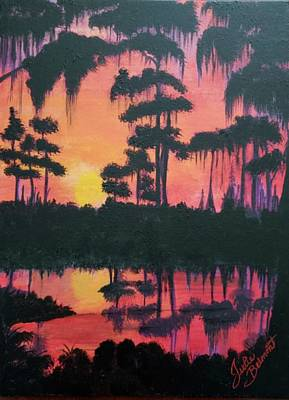 Painting - Bayou Beauty by Julie Belmont