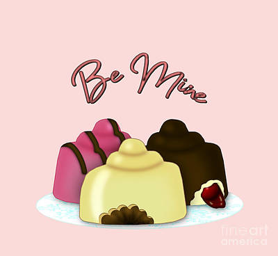 Photograph - Be Mine Valentine's Day Candy by Colleen Cornelius