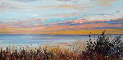 Painting - Beach Alarm by Susan E Hanna