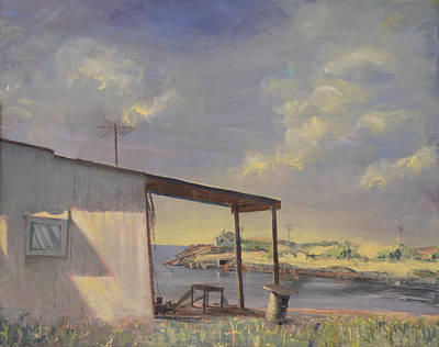 Painting - Beach Shack by Aaron Bowles