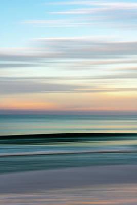 Photograph - Beach Sunrise by Kurt Lischka