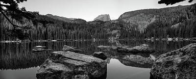 Pasta Al Dente - Bear Lake Rocky Mountain NP BW by Steve Gadomski