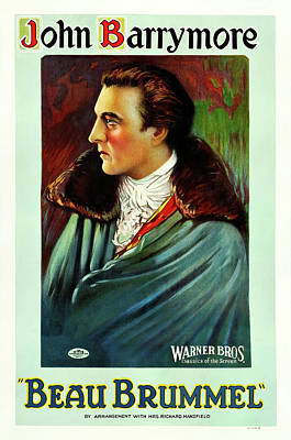 Royalty-Free and Rights-Managed Images - Beau Brummel, with John Barrymore, 1924 by Stars on Art